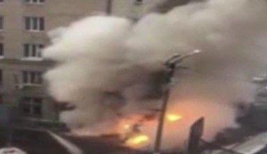 Rusya'da klinikte şiddetli patlama