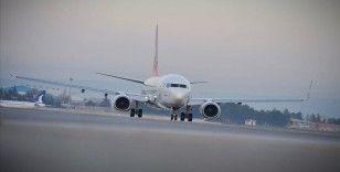Ekimde hava yoluyla yaklaşık 8,9 milyon yolcuya hizmet verildi