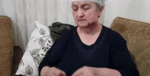 Yaşlı kadın hırsız komşusunun elinden ölü numarası yaparak kurtuldu