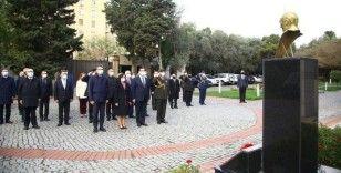 Büyük Önder Atatürk Azerbaycan'da anıldı