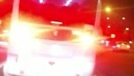 Minibüsçülerin yolcu alma yarışı kamerada