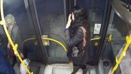 Bursa'da otobüs içerisindeki taciz anları kameralara anbean yansıdı
