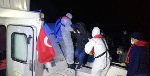 24 göçmen kurtarıldı