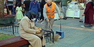 Yasak başladı, temizlik işçileri bayram etti