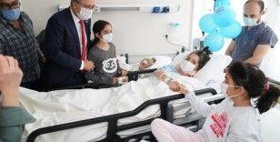 65 saat sonra enkazdan kurtarılan Elif ve ailesi taburcu oldu