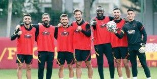 Galatasaray, Kayserispor hazırlıklarını sürdürdü
