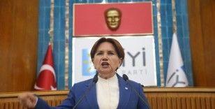 """Akşener: """"Ne HDP ile ne CHP ile ne Saadet Partisi ile anayasa çalışması yaptık, nokta"""""""