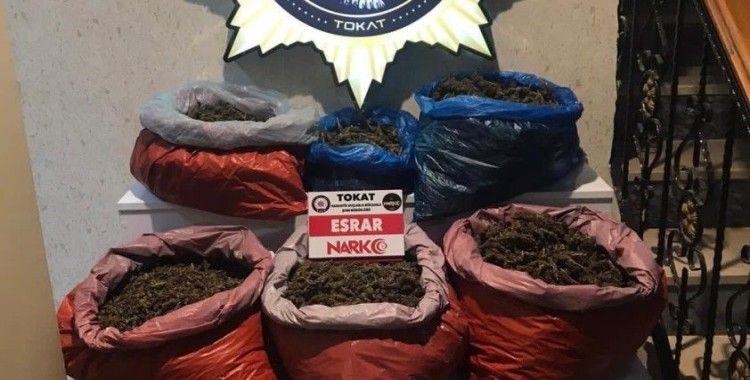 Tokat'ta 34 kilo 832 gram uyuşturucu ele geçirildi