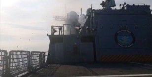 Deniz Kuvvetleri'nden Doğu Akdeniz'de atış eğitimi