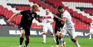 U21 Avrupa Şampiyonası: Türkiye: 0 - Avusturya: 1 (İlk yarı)