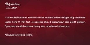 Sivasspor'da koronavirüs şoku!
