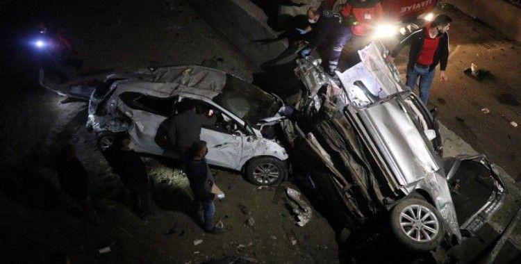 Bolu'da gece saatlerinde korkunç bir kaza meydana geldi