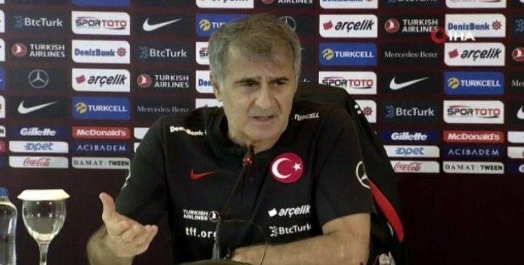 Şenol Güneş: 'Maçı kazanarak bitirmek istiyoruz'