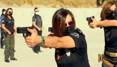 Antalya'nın kadın polisleri poligonda dosta güven düşmana korku veriyor
