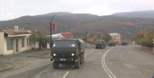 Rus Barış Gücü askerleri Dağlık Karabağ'da devriyelere başladı