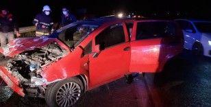 Osmaniye'de trafik kazası: 1 ölü, 5 yaralı
