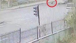 17 yaşındaki ehliyetsiz sürücü küçük Zeynep'i böyle ezdi