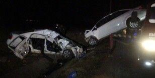 2 kişinin öldüğü kazayı canlı yayın yaparken görüntüledi