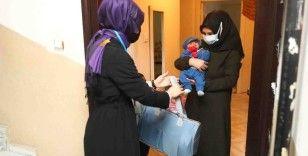 """Bağcılar'da """"Hoş geldin Bebek"""" projesinde 50 bininci bebeğe ulaşıldı"""