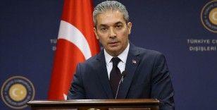 Dışişleri Bakanlığı Sözcüsü Aksoy: AB, Kıbrıs Türk halkının çözüm iradesini reddetme cüretini göstermekte