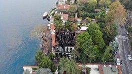 Tarihi Vaniköy Camii adeta küle döndü