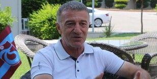 Trabzonspor Kulübü Başkanı Ahmet Ağaoğlu'ndan birliktelik çağrısı