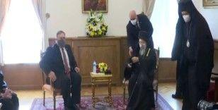 ABD Dışişleri Bakanı Mike Pompeo, Patrik Bartholomeos ile görüştü