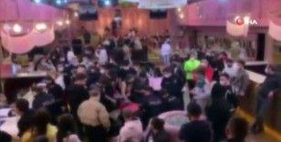 Şişli'de koronavirüse rağmen yapılan partiye polis baskını