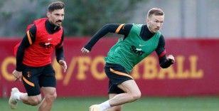 Galatasaray, Kayserispor maçı hazırlıklarını sürdürdü