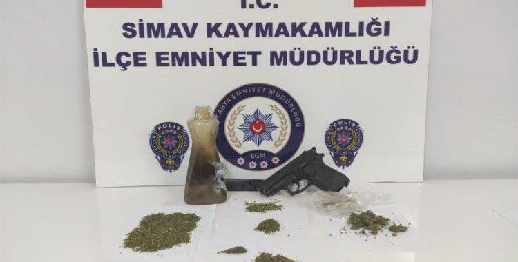 Simav'da uyuşturucu operasyonu