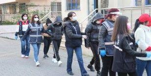 Yalova'da fuhuş operasyonunda 25'i kadın 34 gözaltı