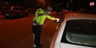 Kurallara uymayan 63 araç sürücüsüne 88 bin 513 TL para cezası kesildi