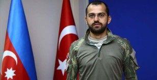 Azerbaycanlı doktor Antalya'dan cepheye koştu
