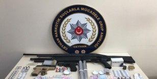 Ceyhan'da uyuşturucu satıcılarına hava destekli operasyon: 19 gözaltı