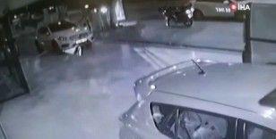 E-5 Karayolu'nda feci kazalar kamerada