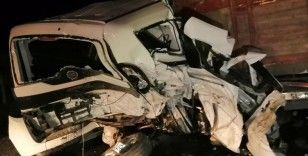 Sungurlu'da zincirleme trafik kazası: 1 ölü, 3 yaralı