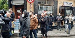 Beyoğlu'nda panik anları: vatandaşlar sokağa döküldü