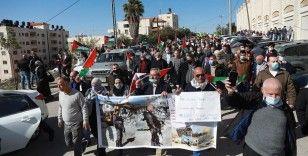Filistinliler Pompeo'nun Yahudi yerleşim birimine ziyaret planını protesto etti