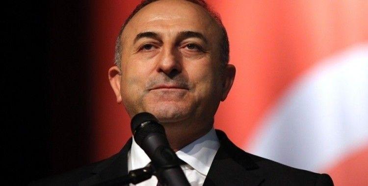 Dışişleri Bakanı Mevlüt Çavuşoğlu, IKBY Başkanı Neçirvan Barzani'yle görüştü
