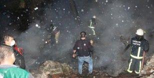 Yaşlı çift evlerinde çıkan yangında hayatını kaybetti