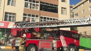 Pendik'te yangında mahsur kalan 6 kişi kurtarıldı