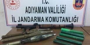 Bir askerin şehit olduğu saldırıda kullanılan roketatar ele geçirildi