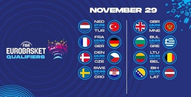 FIBA EuroBasket 2022 Elemeleri'nin programı belli oldu