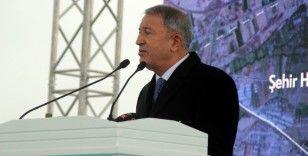 Bakan Akar'dan 'Ege ve Doğu Akdeniz' açıklaması
