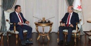 KKTC'de Saner hükümet kurma görevini Cumhurbaşkanı Tatar'a iade etti