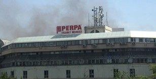 Perpa'yı alevler sardı