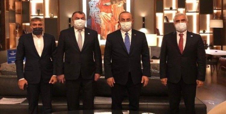 Bakan Çavuşoğlu: Ahıska Türkleri'nin haklı davasına sahip çıkmaya devam edeceğiz