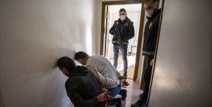 Ankara'daki narkotik operasyonlarında gözaltına alınan 308 zanlıdan 35'i tutuklandı