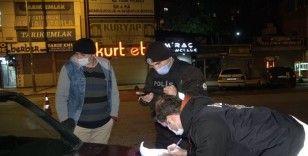 Arnavutköy'de kısıtlamaya uymayan vatandaşlara ceza yağdı