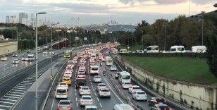 İstanbul'da trafik yoğunluğu yüzde 40'ı aştı